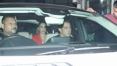 Salman Khan meets Arpita Khan and her newborn baby Ayat in hospital with Iulia Vantur. See pics