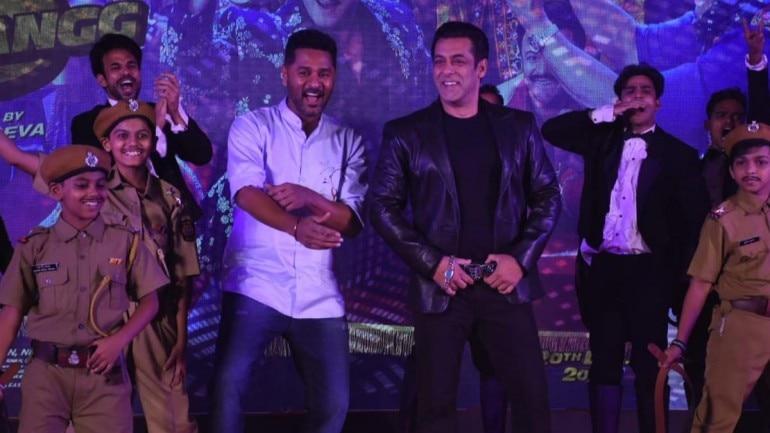 Salman Khan and Prabhudeva. Photo: Yogen Shah.