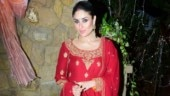 Kareena Kapoor in red kurta-churidaar with dupatta will take your breath away. See pics