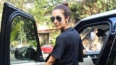 Malaika Arora in comfy black attire at gym is the perfect Monday morning motivation. See pics