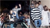 In pics: Ananya Panday and Bhumi Pednekar spotted together. But don't miss Kartik Aaryan's stunt