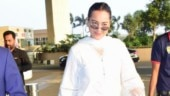 Sonakshi Sinha is gorgeous in elegant white suit and dupatta at Mumbai airport. See pics