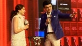 Taapsee Pannu and Sourav Ganguly share the stage at India Today Conclave East 2019