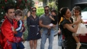 Inaaya Kemmu and Karan Johar's twins attend Taimur's Christmas-themed birthday party. See pics