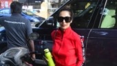 Malaika Arora is red-hot in monotone tracksuit with Rs 1.2 lakh bag on day out. See pics