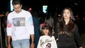 In pics: Aishwarya and Abhishek Bachchan head out for dinner with daughter Aaradhya