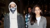 In pics: Shahid Kapoor returns to Mumbai with Mira Rajput after suffering injury on Jersey set