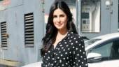 Katrina Kaif in crop shirt and leather mini skirt does girl-next-door fashion right on day out