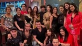 Shah Rukh and Gauri Khan celebrate New Year with Suhana, Aryan, AbRam and friends. Inside pics