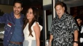 Street Dancer special screening: David Dhawan and Natasha Dalal cheer for Varun Dhawan. See pics
