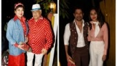 Javed Akhtar celebrates 75th birthday with retro theme party. See all pics