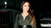 Ileana D'Cruz steps out in a thigh-slit shirt dress for night out in Mumbai. See pics