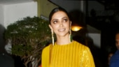 Deepika Padukone in sequined suit brings glam to event. Proves simplicity goes a long way