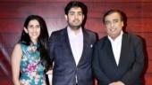 Mukesh Ambani with Akash and Shloka Mehta attends Javed Akhtar's star-studded birthday bash. All pics