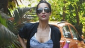 Malaika Arora in sports bra and sheer tights gives a sexy twist to comfy gym look. See pics