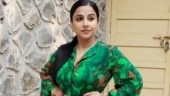Vidya Balan in printed green ensemble pulls off a rare fashion blunder. See pics