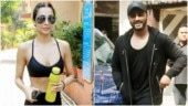 Malaika Arora and boyfriend Arjun Kapoor twin in bold all-black look for workout session