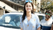 Ananya Panday in crop shirt and distressed mini shorts is all about summer vibes in the bay