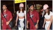 Tara Sutaria and boyfriend Aadar Jain back from their London getaway. See pics