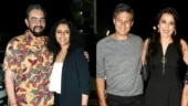 Jawaani Jaaneman: Pooja and Kabir Bedi attend special screening of Alaya's debut film. See pics