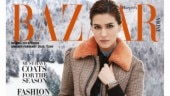 Kriti Sanon stuns in classic winterwear on the cover of Harper's Bazaar India. See pics