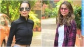 Malaika Arora and Amrita are sister goals in comfy gym ensembles. See pics