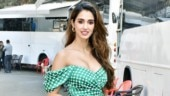 Disha Patani in off-shoulder satin dress is sultry as ever at Malang promotions. See pics