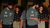 Shahid Kapoor and Mira Rajput step out for a pizza date. See pics