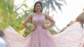 Shweta Tiwari looks pretty in pink at brother's wedding in Goa