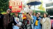 Shubh Mangal Zyada Saavdhan: Ayushmann Khurrana becomes groom for Jitendra Kumar in Delhi