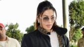 Jacqueline Fernandez in jacket and tights makes athleisure look sexy at Mumbai airport. See pics