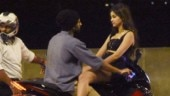 Fighter: Vijay Deverakonda and Ananya Panday get cosy on a bike for shoot. See pics