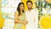 Inside pics from Nithiin and Shalini's engagement. Seen them yet?