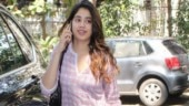 Janhvi Kapoor is pretty in kurti and churidar on her way to gym. See pics