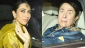 Karisma Kapoor, Randhir Kapoor and others attend Armaan Jain's mehendi ceremony. See pics