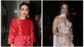 Karisma Kapoor and Kiara Advani shine bright at Armaan Jain's sangeet ceremony. See pics