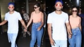 Deepika Padukone and Ranveer Singh return hand-in-hand from vacay on Valentine's Day