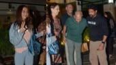 Farhan Akhtar meets girlfriend Shibani Dandekar's family over dinner. See pics