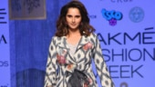 Lakme Fashion Week Day 3: Sania Mirza steals the show in ethnic outfit on the ramp. See pics