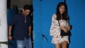 Sushant Singh Rajput steps out on a dinner date with girlfriend Rhea Chakraborty. See pics