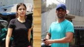 Sushant Singh Rajput and girlfriend Rhea Chakraborty sweat it out in gym together. See pics