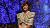 Tahira Kashyap looks breathtaking as she makes her debut as showstopper at Lakme Fashion Week