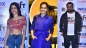 Thappad: Alaya F and Anurag Kashyap attend special screening of Taapsee Pannu film. See pics