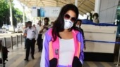 Sara Ali Khan gives a vibrant twist to athleisure at airport. See pics