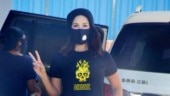 Sunny Leone rocks casual T-shirt with pants on day out with kids. See pics