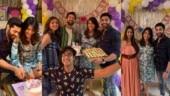 Nakuul Mehta, Sangita Ghosh attend Ruslaan Mumtaz and wife Nirali's baby shower
