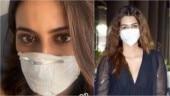 Rakul Preet and Kriti Sanon add face masks to their new airport look