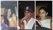 Ranbir Kapoor, Alia Bhatt and Katrina Kaif attend Aarti Bhatt's Holi bash. See pics