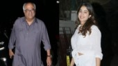 Janhvi Kapoor turns 23: Actress meets brother Arjun with dad Boney Kapoor on birthday eve