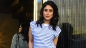 Kareena Kapoor pairs basic T-shirt with the most vibrant pants ever on day out. See pics